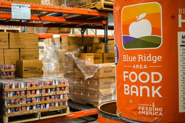 The Blue Ridge Area Food Bank's Charlottesville warehouse.