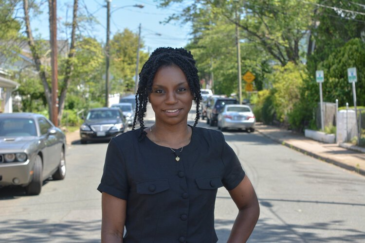 Shantell Bingham, the program director of the Food Justice Network.