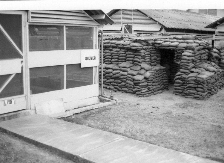 Bob Gest's bunker in Vietnam