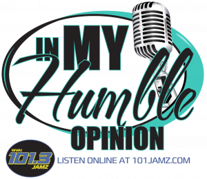 In My Humble Opinion Podcast logo