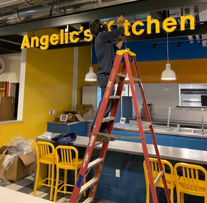Preparing for launch of Angelic's Kitchen
