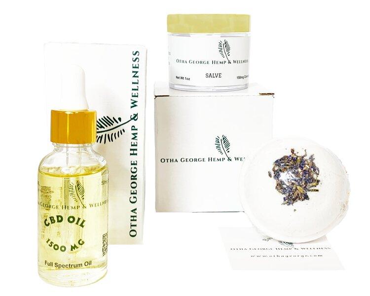 Otha George Hemp & Wellness products