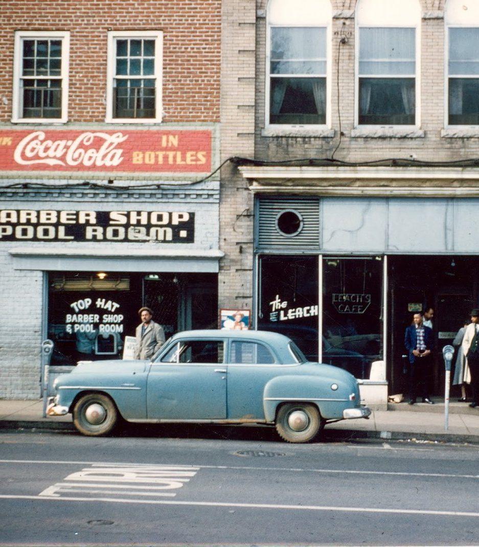 A historic picture of Vinegar Hill