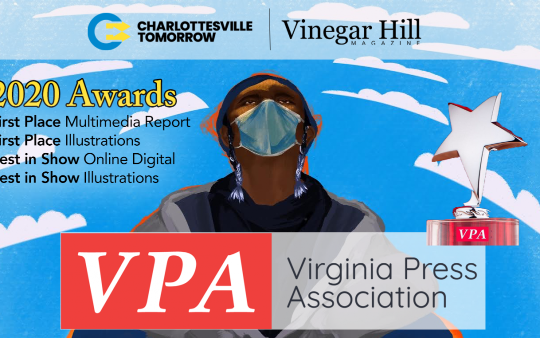 Determined Series wins Awards from the Virginia Press Association