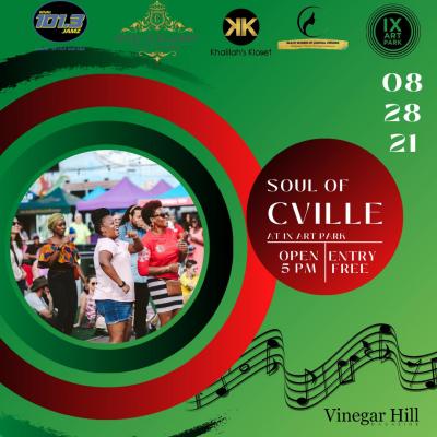Vinegar Hill Magazine Joins as a Sponsor of the Soul of C-Ville Festival at Ix Park