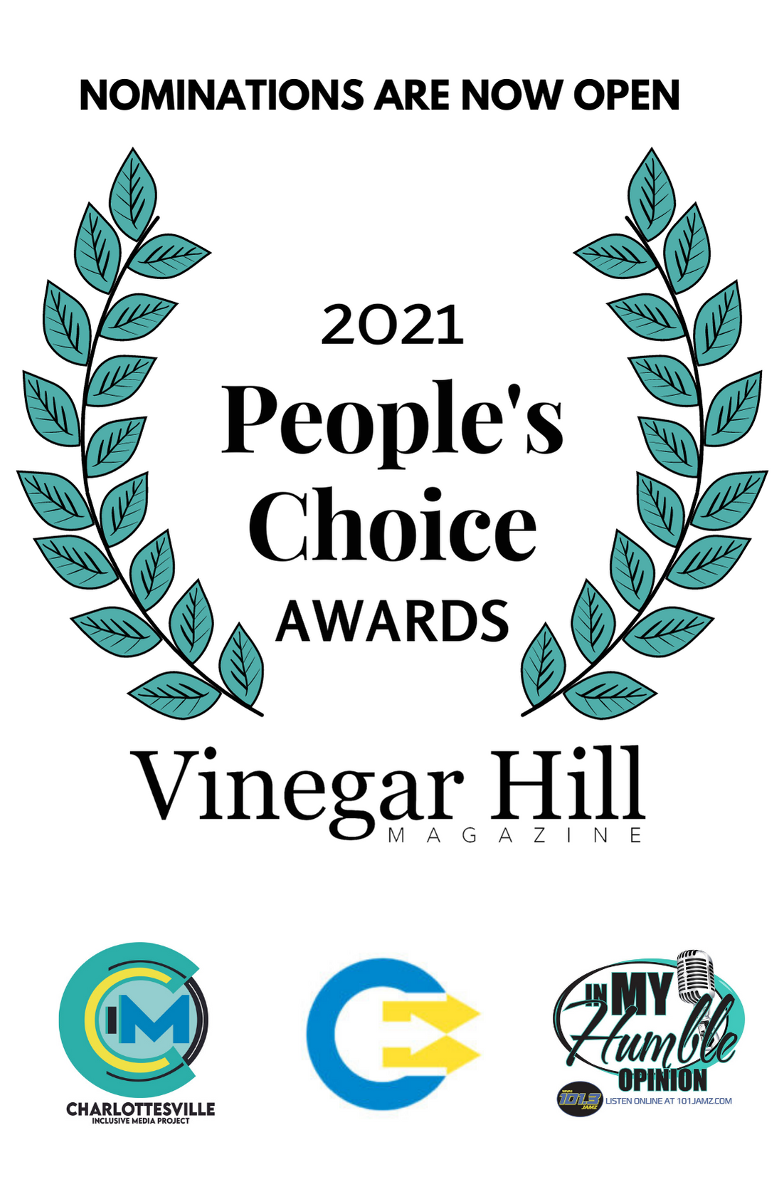 Nominations for The People's Choice | We are Charlottesville | Best In Black Awards
