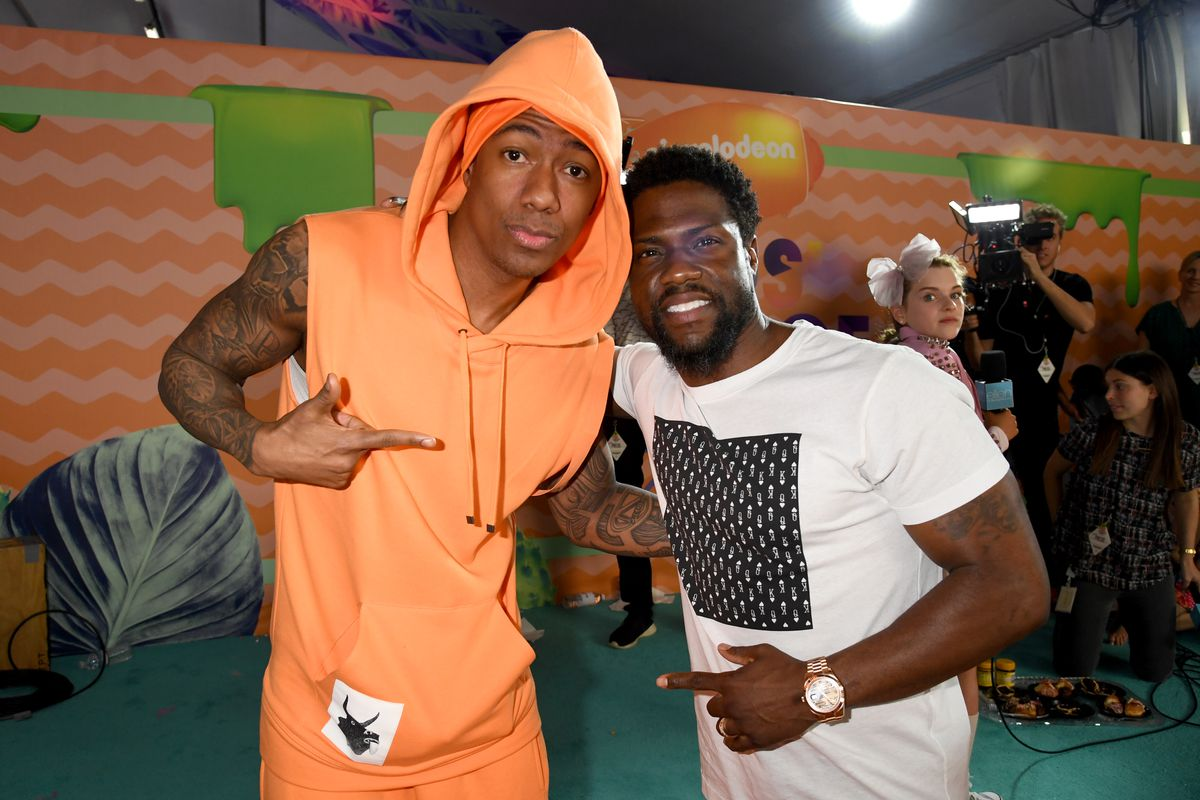 The Ongoing Prank Wars Between Nick Cannon and Kevin Hart Reach New Heights—Literally