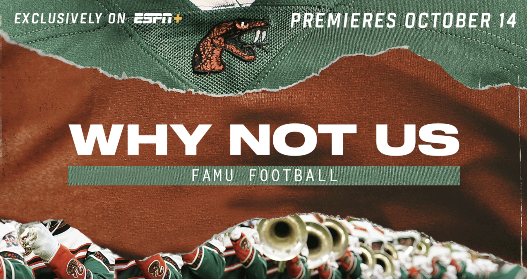 ESPN's The Undefeated Runs It Back With Why Not Us: FAMU Football
